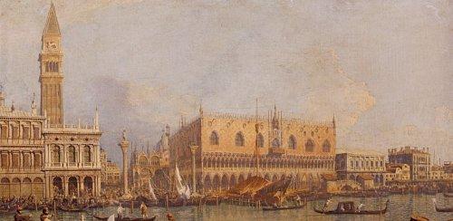 Ducal-Palace,-Venice,-C.1755